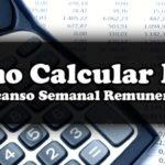Tabela Cálculo – Descanso Semanal Remunerado (DSR)