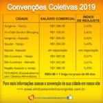 Salário comercial 2019