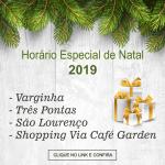 NATAL 2019 – Horário Especial de Funcionamento do Comércio de Varginha e Região