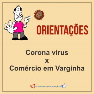 Ações no Comércio de Varginha para Ajudar a Conter o COVID-19