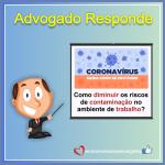 Ofício – Orientações para Diminuir os Riscos de Contaminação do Coronavirus no Ambiente de Trabalho